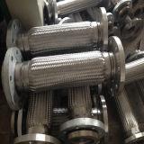 Qualitäts-umsponnener flexibler gewölbter Metalschlauch mit Flanschen