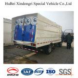 caminhão da sução da poeira da vassoura de estrada de 4cbm Isuzu Qingling