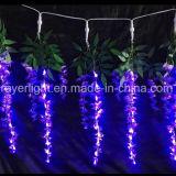 Decoração da iluminação das glicínias da flor do diodo emissor de luz para o casamento e o feriado