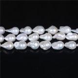 стренга перлы формы груши 13*16mm скачками свободная большая барочная