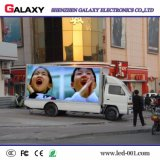 Visualización de LED del coche/de los carros de la buena calidad HD/el panel/pantalla/cartelera de P6/P8/P10 para la publicidad móvil