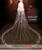 Personalizar uns/dois o véu nupcial do casamento da camada 1m/1.5m*1.5m/3m/3.5m