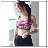 Reggiseno di vendita caldo delle donne del commercio all'ingrosso degli abiti sportivi del contrassegno privato