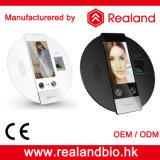 Service de temps d'identification de face de détecteur d'empreinte digitale