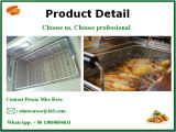 Электрическая сковорода популярного оборудования кухни поставкы коммерчески нержавеющего стальная стоящая