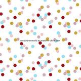 100%Polyester druckte erneuernpunkt Pigment&Disperse Gewebe für Bettwäsche-Set