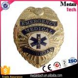 안전핀을%s 가진 중국 공급자 기념품 미국 경찰 접어젖힌 옷깃 Pin