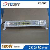 barra chiara fuori strada dell'automobile 120W LED della lampada della barra del CREE LED di 4D 4X4