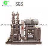 Compressor comprimido do gás natural CNG da modalidade refrigerar de ar