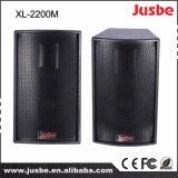 """Audio altoparlante esterno professionale sano di XL-2200m 300W 10 """""""