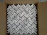 Statuarische weiße Marmorfliesen für Wand-Umhüllung-Bodenbelag