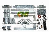 Алюминий 54 дюйма - тросовый ролик двери высокого подъема секционный