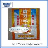 Grande stampante di getto di inchiostro del carattere per il sacchetto tessuto fertilizzante (DOD) 10~60mm