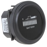 calibrador del contador del monitor del indicador de la carga LED Digital del estatus de la batería 12V/24V/36V/48V/72V