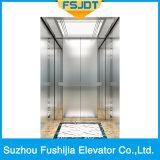 Просто и практически домашний лифт виллы с нержавеющей сталью волосяного покрова