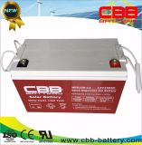 bateria profunda 12V 100ah do gel do ciclo do painel 3kw solar