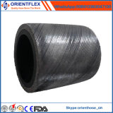 Hoge druk Slang van de Draad van het Staal van 4 Laag de Spiraalvormige Rubber Hydraulische 4sh 4sp