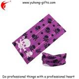 Cuir épais chaud d'écharpe de configuration de crâne de vente pour promotionnel (YH-HS033)