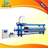 Prensa de filtro hidráulica automática de membrana con diseño colgante especial de la tela filtrante