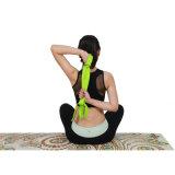 Stuoia di gomma di yoga della pelle scamosciata di yoga della stuoia dell'albero naturale antiscorrimento di Pilates