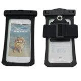 Bolso impermeable del teléfono móvil con el gancho de leva y brazal para el iPhone 4.7 pulgadas