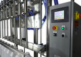 3 dans 1 machine à étiquettes remplissante et recouvrante de rinicage de pression de machine