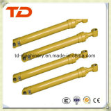 Assy do cilindro do petróleo do cilindro hidráulico do cilindro do braço de KOMATSU PC300-7 para peças sobresselentes da máquina escavadora da esteira rolante