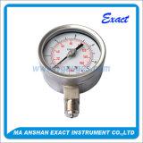 스테인리스 압력 측정하 기계적인 압력계 산업 압력 계기