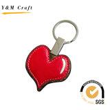 高品質(Y03872)の販売のHeartshape熱いPU Keychain