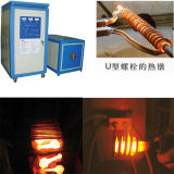 Máquina de forjamento quente supersónico do aquecimento de indução da freqüência para o boleto da barra