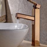 O Faucet elevado da bacia do banheiro de Flg com retira a função