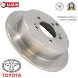 Rotor automotriz do freio de disco das peças sobresselentes