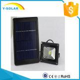 Indicatore luminoso solare esterno di verde LED del sensore di movimento di IP65 3W 9V per il comitato solare SL1-28