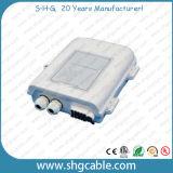 8 Los empalmes de fibra óptica de la caja de distribución (FDB-0208)