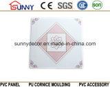Baumaterialien Belüftung-Decken-Wände Belüftung-Decken-Fliesen des China-preiswerte Preis-595*595mm leichte