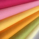100%年の綿によって編まれるファブリックあや織り織り方の洗浄された綿織物