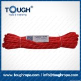 빨간 합성 물질 UHMWPE 윈치 밧줄 6.6mmx15moff 도로 차 윈치 밧줄