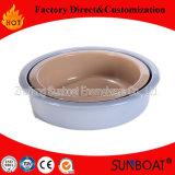 Cassetto rotondo dello smalto/cassetto dell'alimento/articolo da cucina/articoli per la tavola di Sunboat