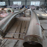 Tube ondulé d'acier inoxydable d'OEM avec le constructeur de tresses