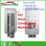 réverbère matériel de l'ÉPI DEL de conduction de chaleur de PCI de 30W~180W IP65