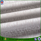 Tissu de rideau en jacquard de polyester de franc d'arrêt total avec le prix usine