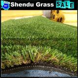 庭のためのロール25mm合成物質の草の泥炭ごとの2X25m