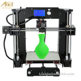 LCD Grote Grootte 220*220*250mm Uitrusting DIY van de Druk van de Printer van Reprap Prusa van de Precisie I3 3D met de Kaart van de 10mGloeidraad 16GB