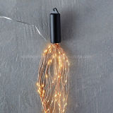 Lumières féeriques de lumière de chaîne de caractères de Noël d'automnes de l'eau de baisse de rosée de DEL pour les décorations à la maison
