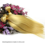 "Gerades Haar 12 des Glückmalaysian-613# "" - 24 "" 100 blondes Webart-Haar des Jungfrau-Menschenhaar-613"