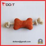 Juguetes resistentes de la cuerda del juguete del perro de la dimensión de una variable del hueso del rasgón