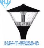 Indicatore luminoso di fusione sotto pressione del giardino del corpo LED dell'alluminio di disegno moderno