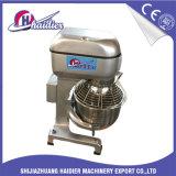 Misturador cheio do bolo do aço inoxidável 20L do equipamento da cozinha com o batedor três para a massa e o leite