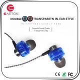 fones de ouvido prendidos estereofónicos da qualidade de 3.5mm Hight