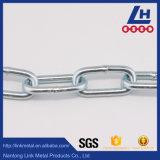 Catena a maglia placcata zinco delicato ordinario dell'acciaio semiduro